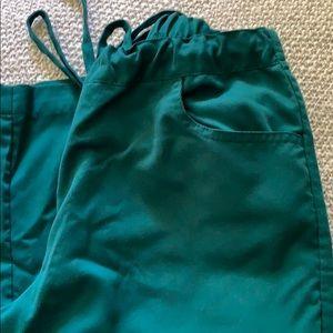 Grey's Anatomy Pants - Women's Greys Anatomy Green Scrub Pants XS